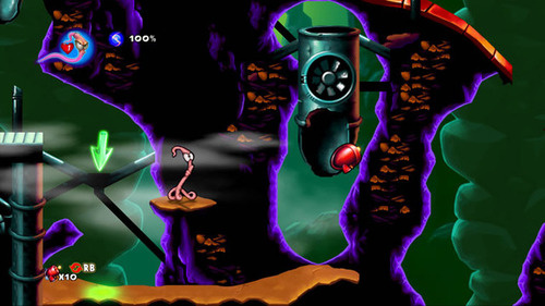 Nine More Groovy Screens of Earthworm Jim in HD