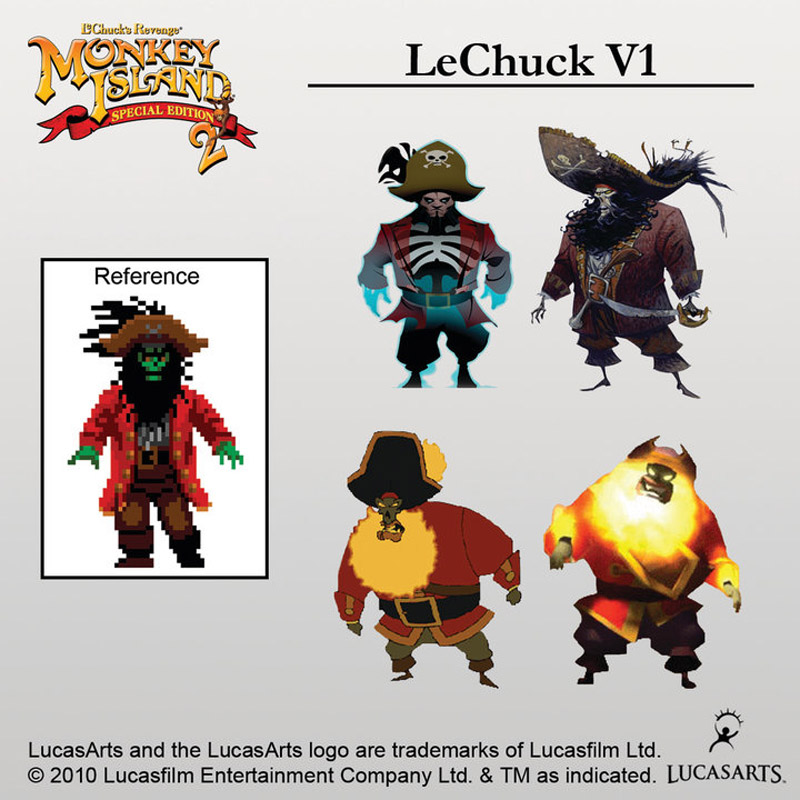 Monkey Island  Special Edition Lechuck