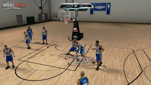 """Draft Combine"" Included in NBA 2K11"