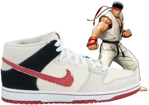 Street Fighter Sneakers Keep It  Classy