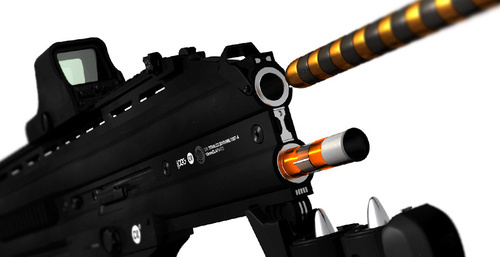 Designing Beautiful Guns For Video Games