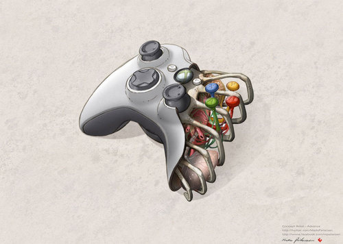 The Beautiful Anatomy of A Video Game Controller