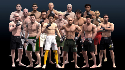 Lightweights and Welterweights Round Out EA Sports MMA Roster