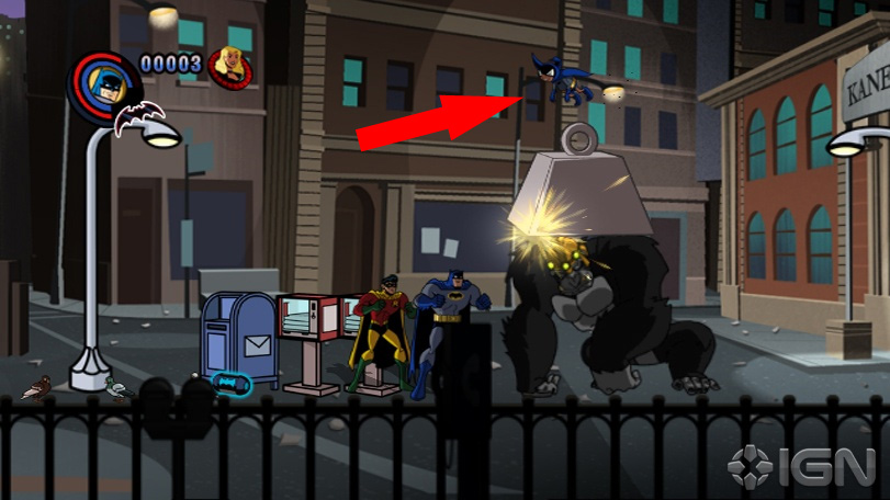 Batman: The Brave and the Bold will be doing something too few games