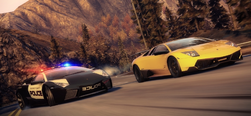 Play as a racer or a cop. You get awesomeness either way.