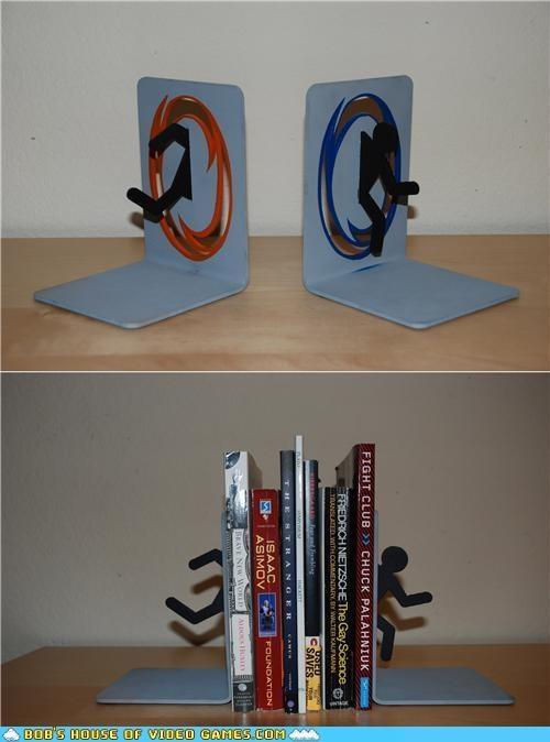 These portal bookends are a success kotaku australia - Portal bookend ...