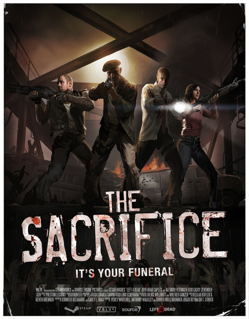 Left 4 Dead's The Sacrifice Gets A Poster
