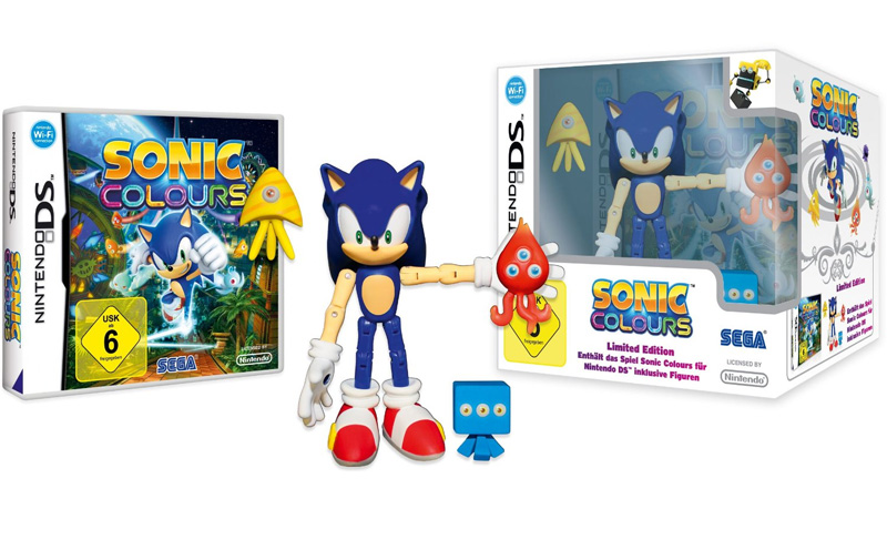 Euro Sonic Colours Special Edition Is Filled With Toys ...
