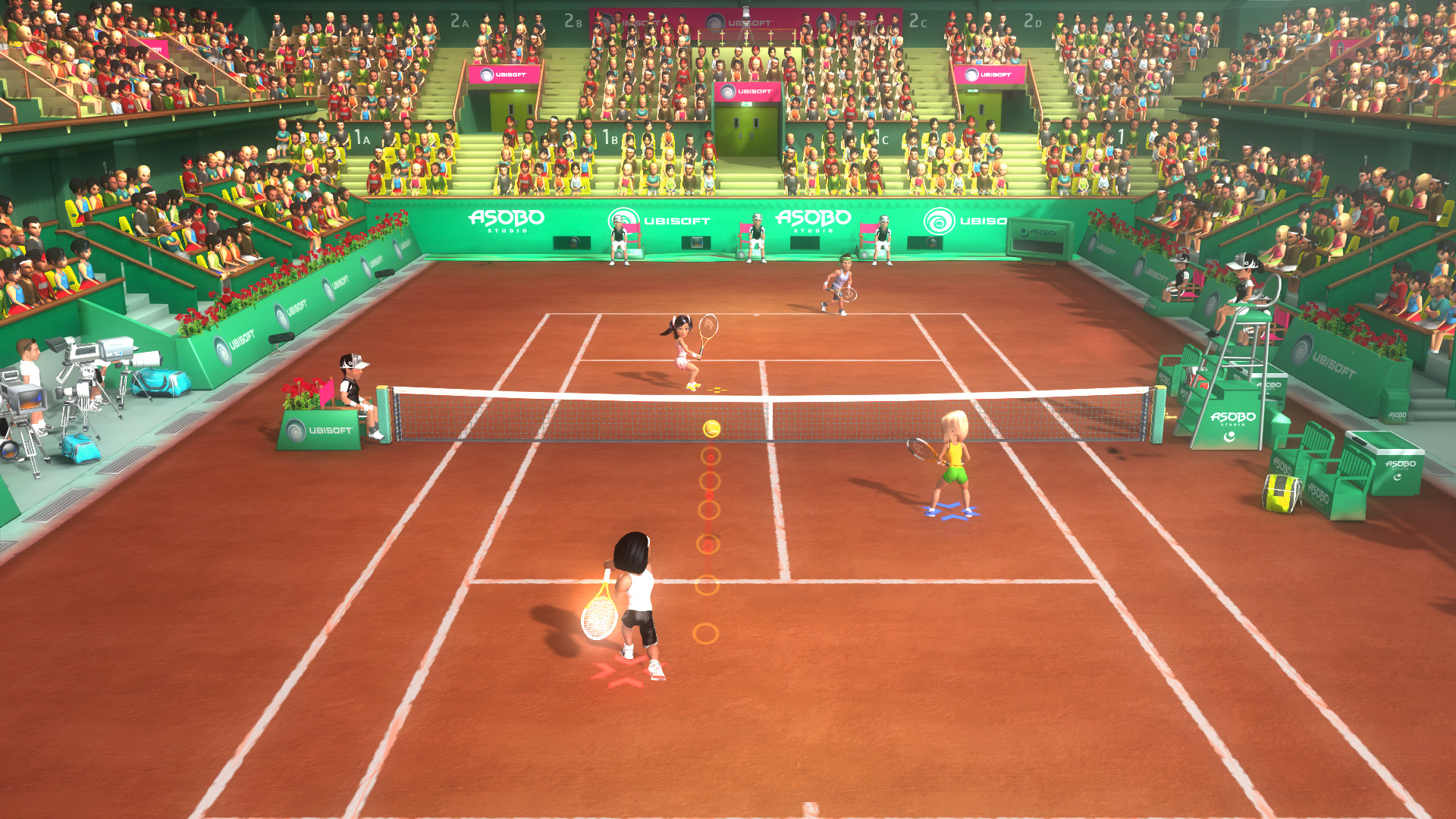 Racquet sports for move is ps3 sports tennis