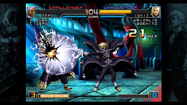 xbox king fighters unlimited match faqs