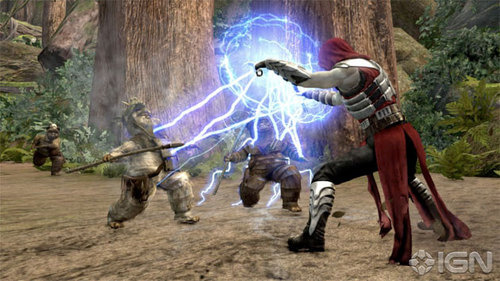 Strike Ewoks Down With All Of Your Hatred In The Force Unleashed II Add-on