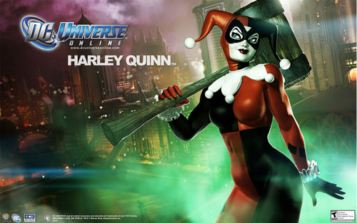 Harley Quinn Looks Crazy Good In DC Universe Online