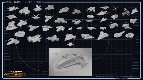 Where Do Star Wars: The Old Republic Starships Come From?