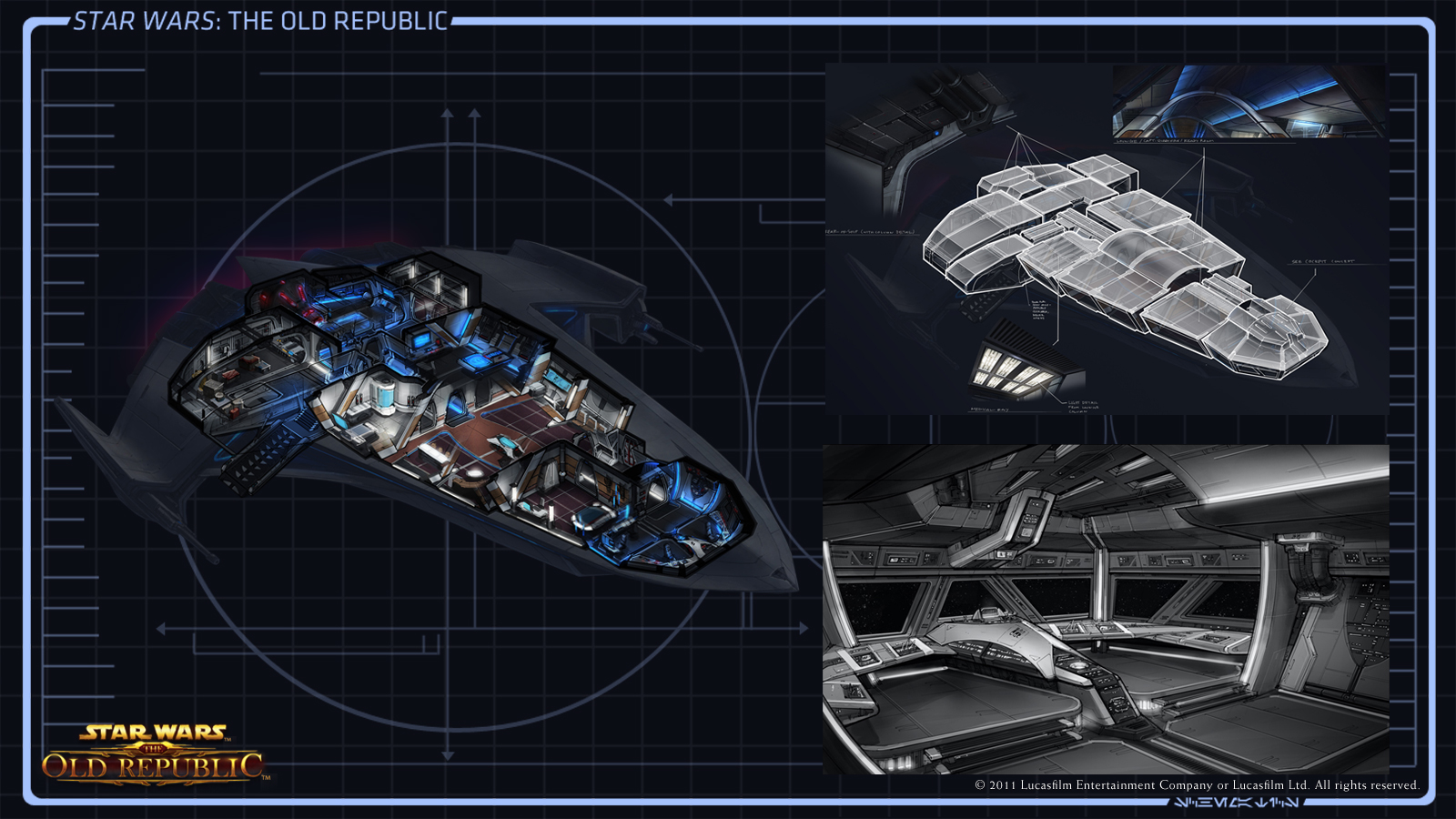 where do star wars the old republic starships come from kotaku australia. Black Bedroom Furniture Sets. Home Design Ideas