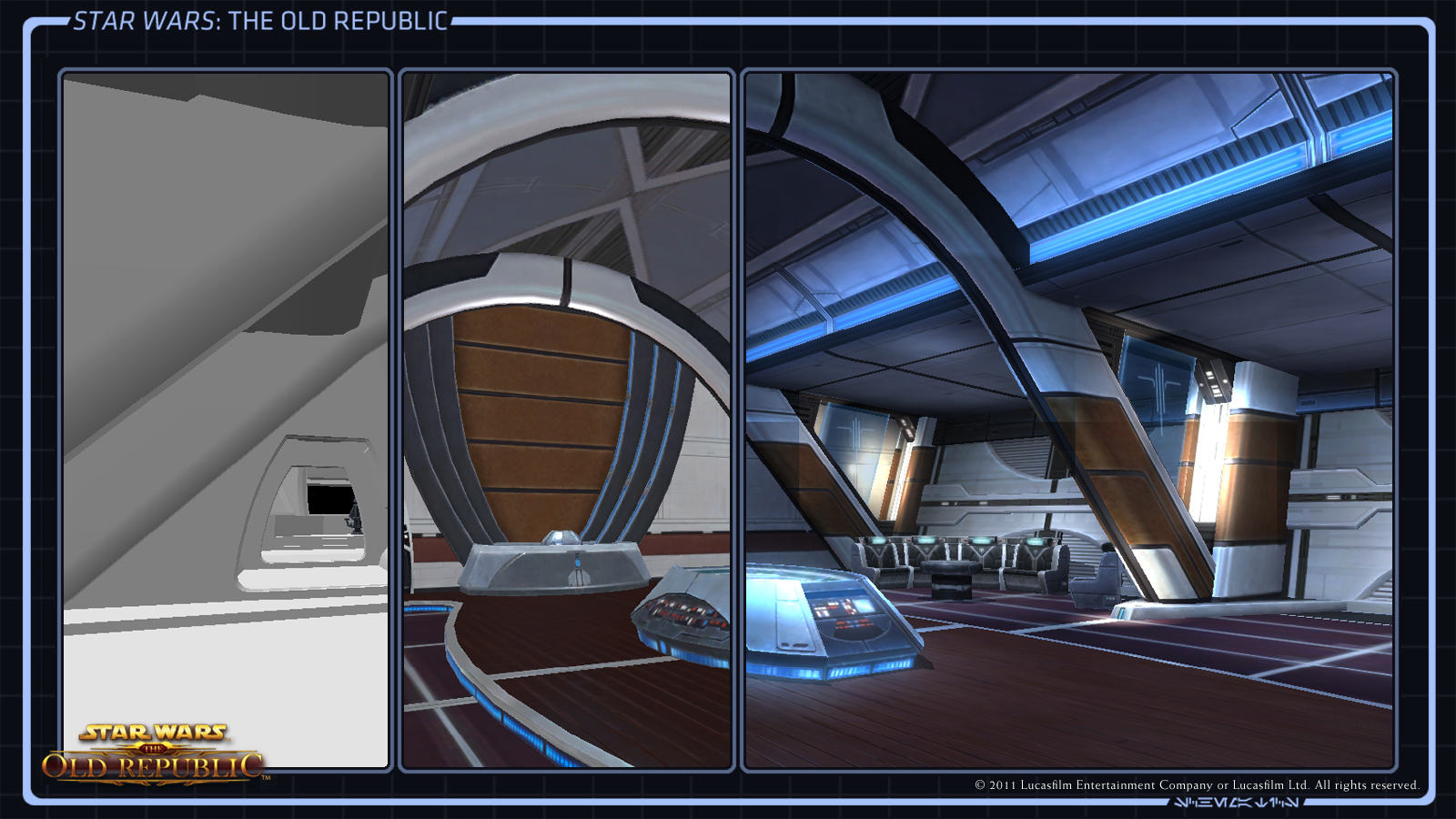 Where Do Star Wars The Old Republic Starships Come From