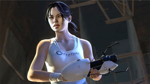 portal 2 chell. The New Look For Portal 2′s