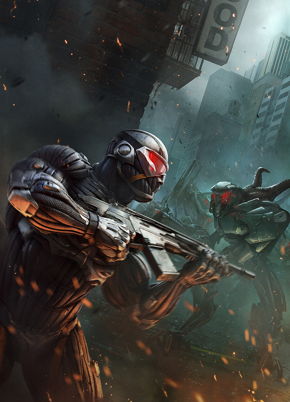 crysis 2 u0026 39 s concept art is a love letter to new york city