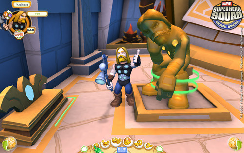 Explore the Halls of Asgard in Marvel Super Hero Squad Online