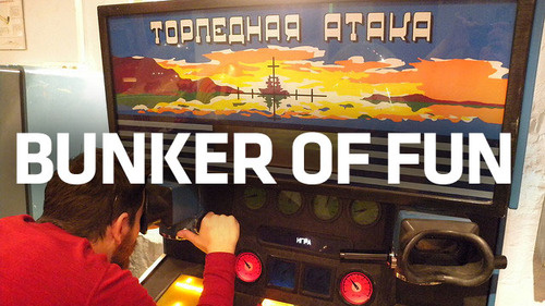 The Extraordinary, Underground Museum of Soviet Arcade Games