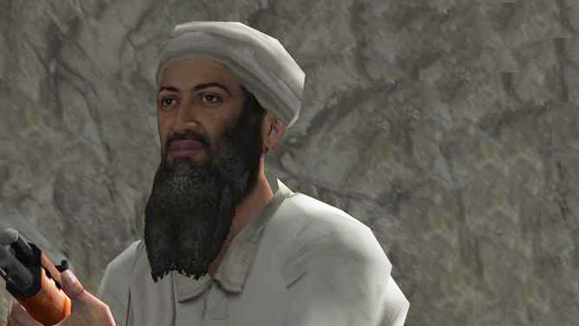 osama bin laden gun. Shoot+osama+in+laden+game