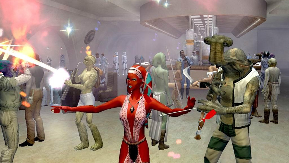 some star wars galaxies players aren t taking the end of their