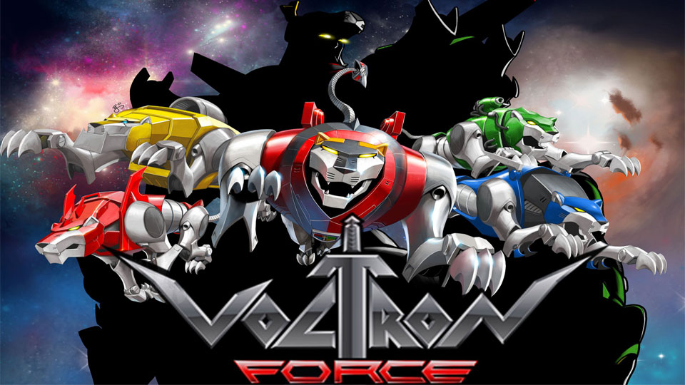 Voltron Force Characters Names Comic-Con  Voltron Force