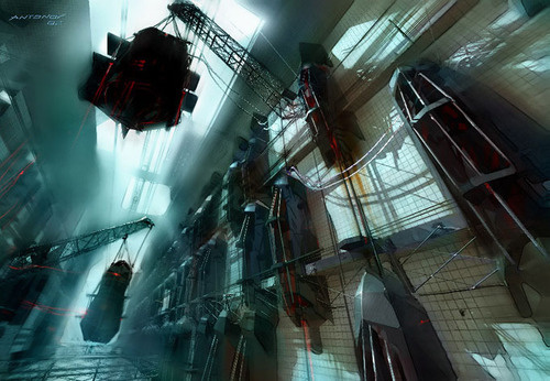 There's a Half-Life On Viktor Antonov's Video Game Art