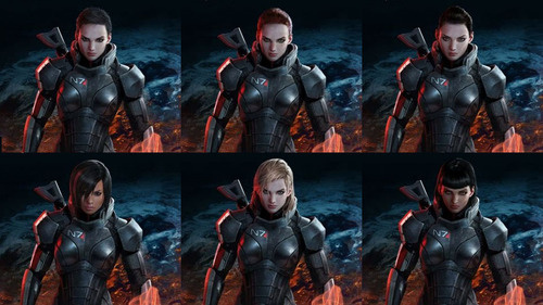 What Does Mass Effect 3's Official 'Fem Shep' Look Like? You Make the Call!