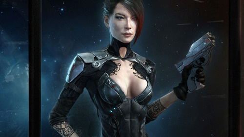 Now This Is the Female Shepard We Should Be Voting For