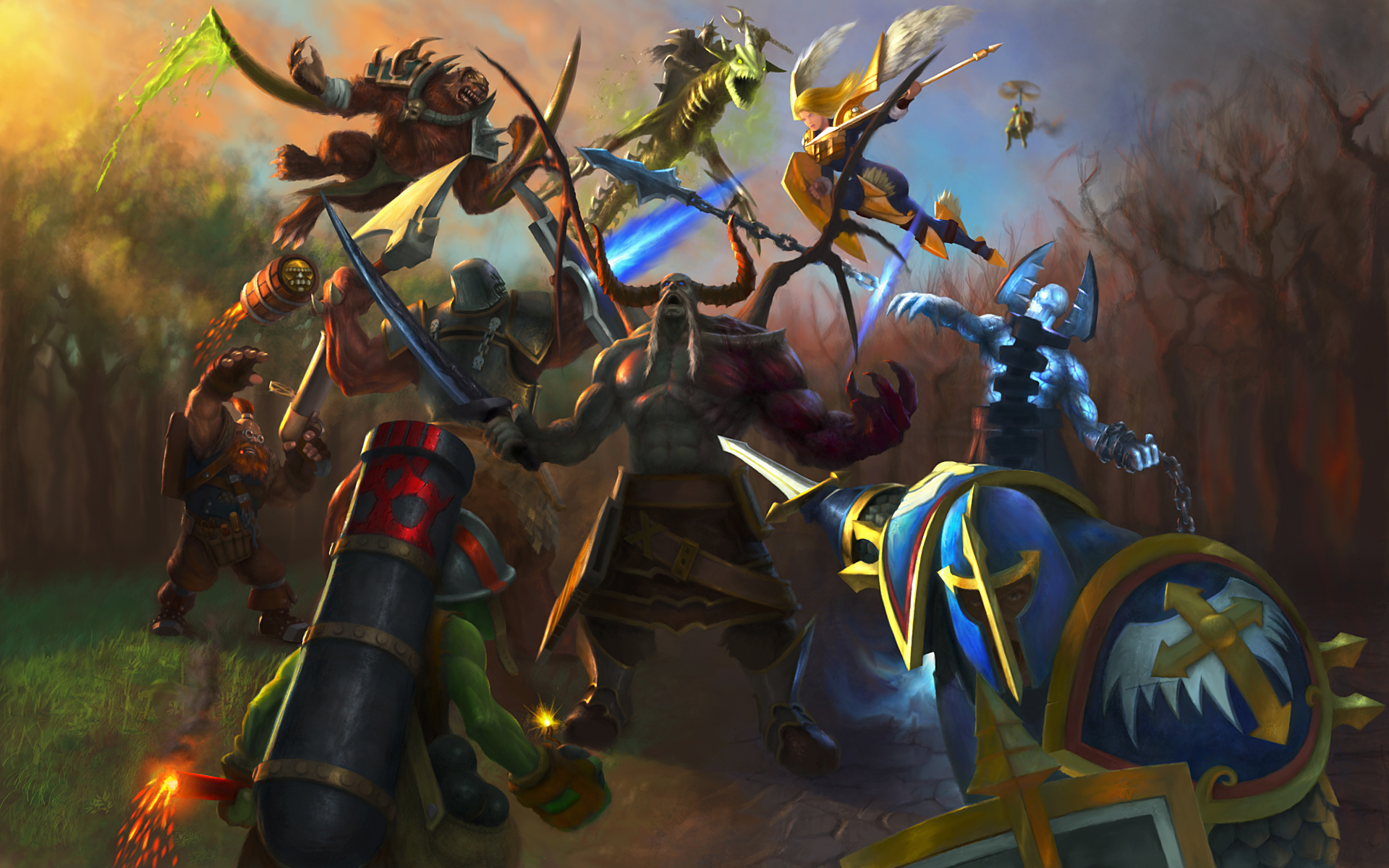 Warcraft iii inspired heroes of newerth goes free to play