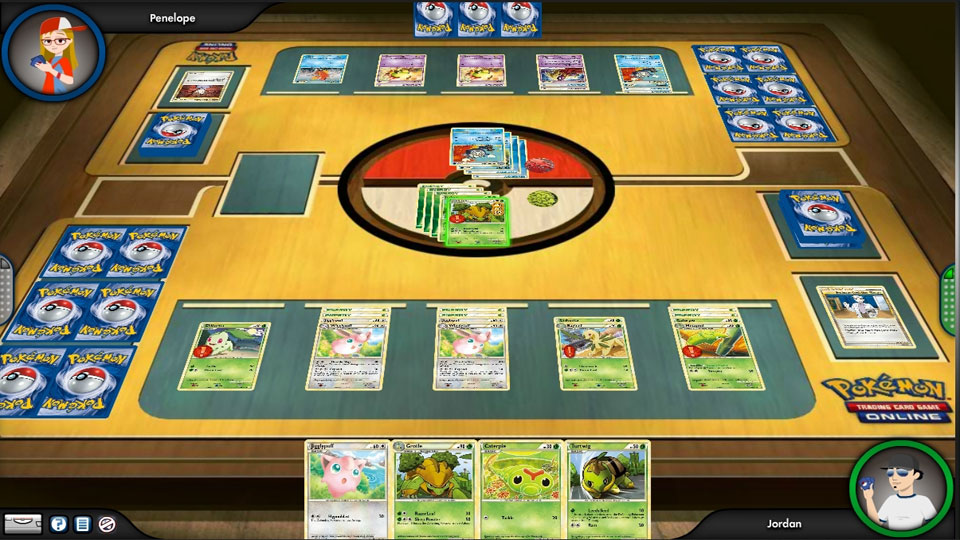 playing pokemon card games