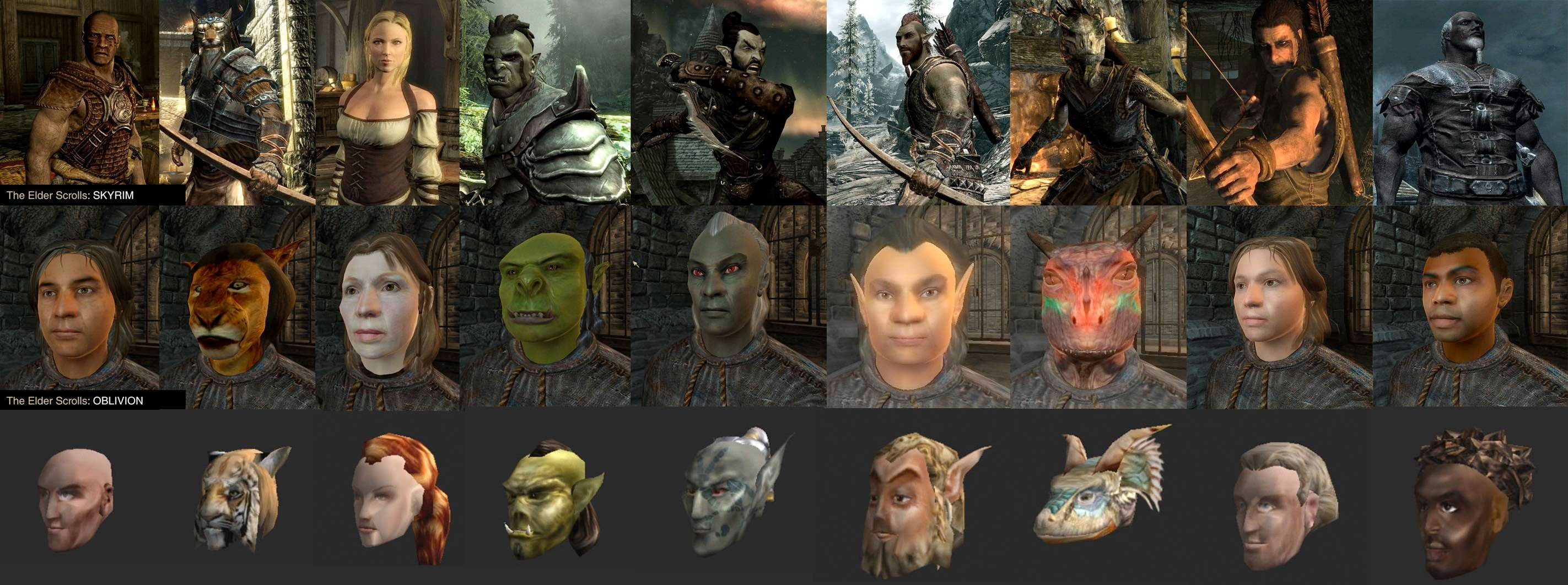 Thread: Character Screens Revealed for Elder Scrolls V: Skyrim