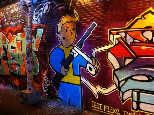 I'd Like to Meet You in a Graffiti-Covered Alley
