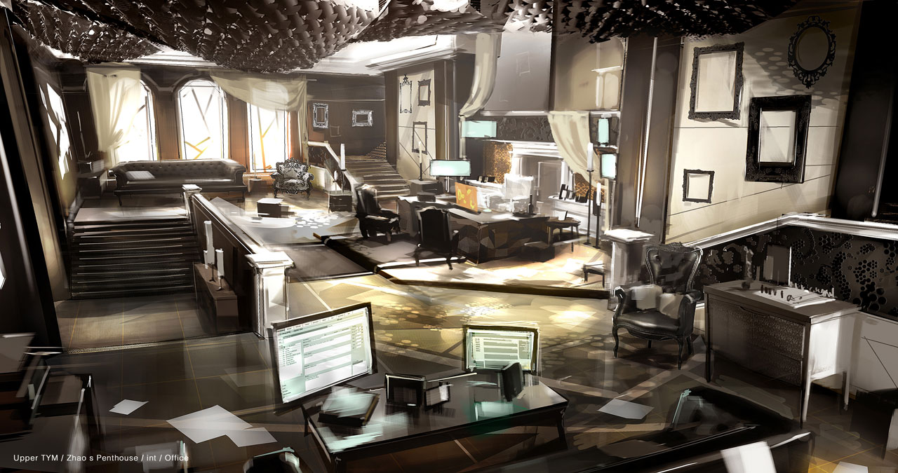 The Amazing Concept Art Of Deus Ex Human Revolution