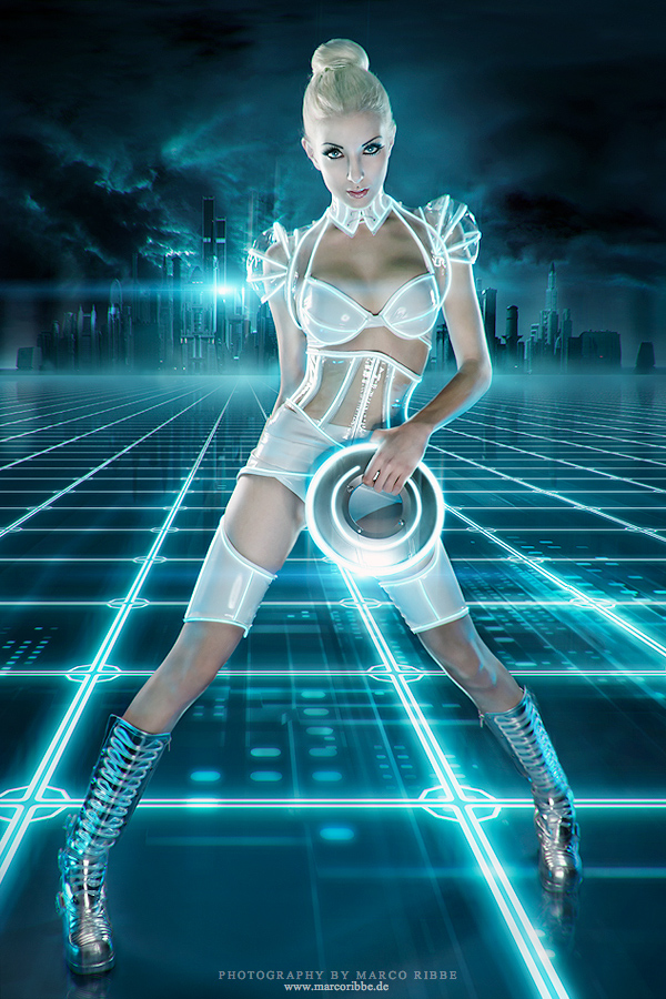 Blonde Girl From Tron