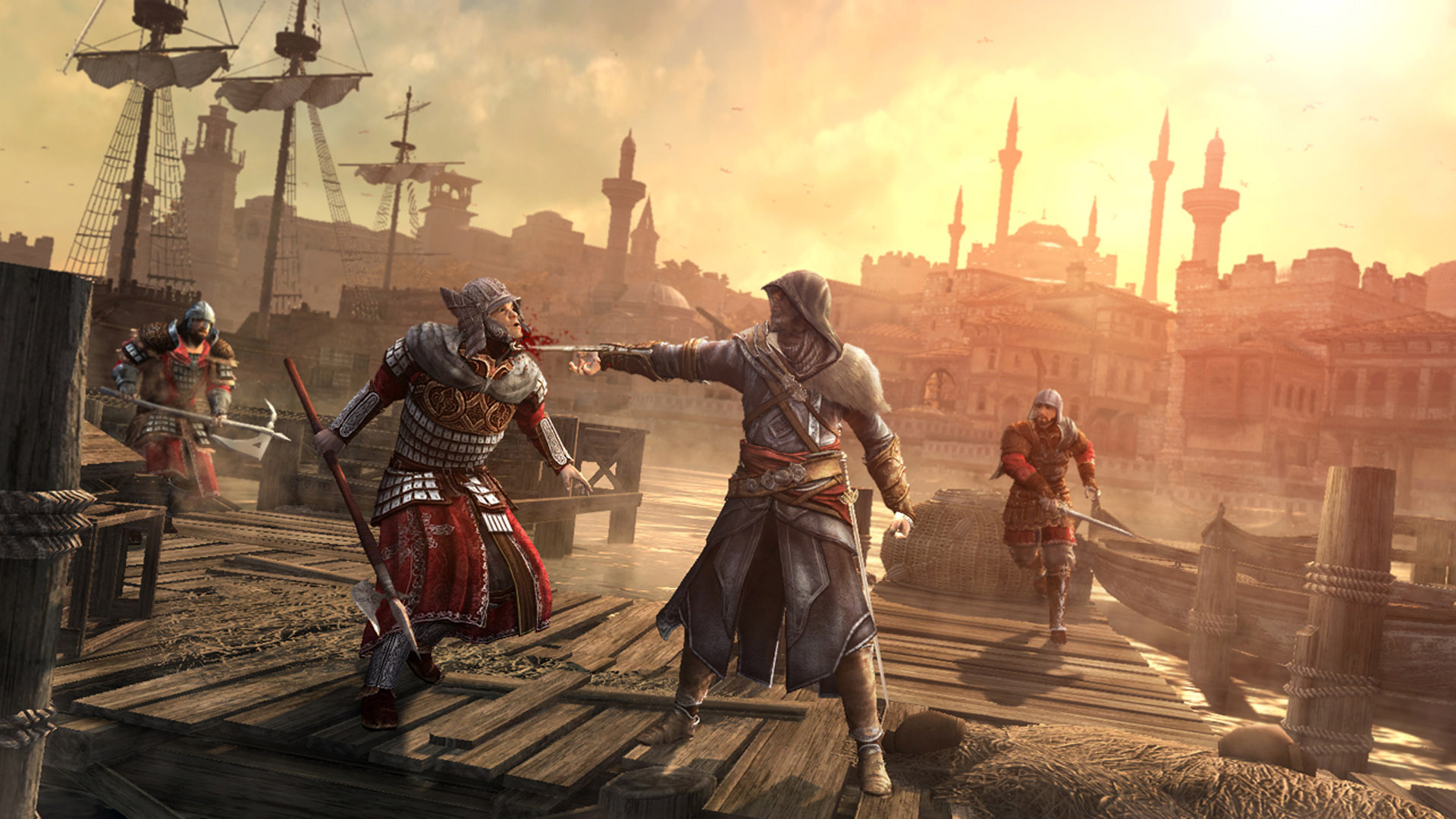 Assassin 39 s creed revelations stealthily kills a string of for Assassin s creed sfondi