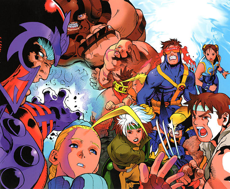 Bengus's Capcom Game Art Will Knock Your Teeth Out ...