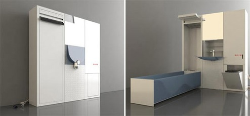 Leave Big Jobs in Small Spaces with the Collapsible Cirrus MVR Bathroom  Giz...