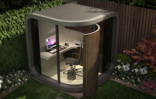 officepod provides an outdoor sanctuary for people that