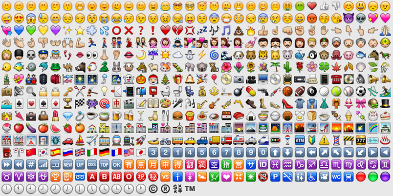 express yourself in words, instead demanding cute Japanese emoticons ...