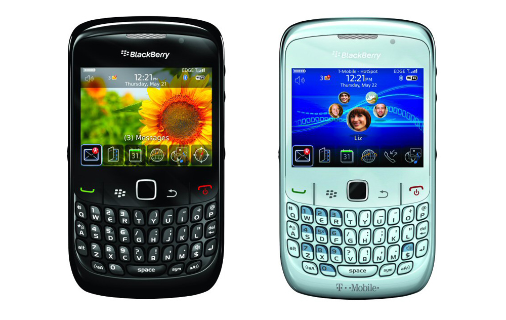 BlackBerry Curve 8520 Officially Ball-less, Out Aug. 5 For ...