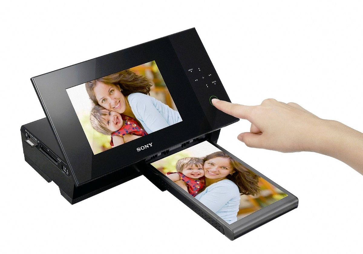 Sony S-Frame DPP-F700 Digital Photo Frame/Printer Is $US200 ...