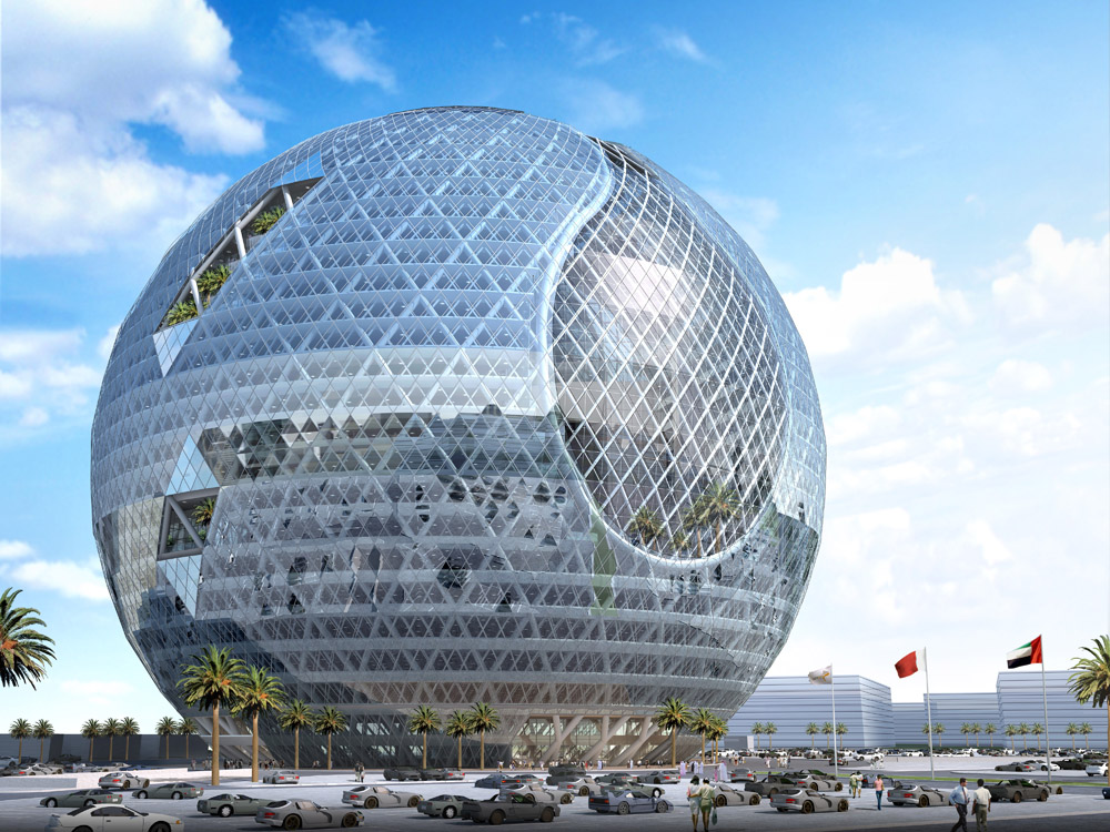 Dubai 39 s technosphere would fit right into a disney park for Imagenes de arquitectura