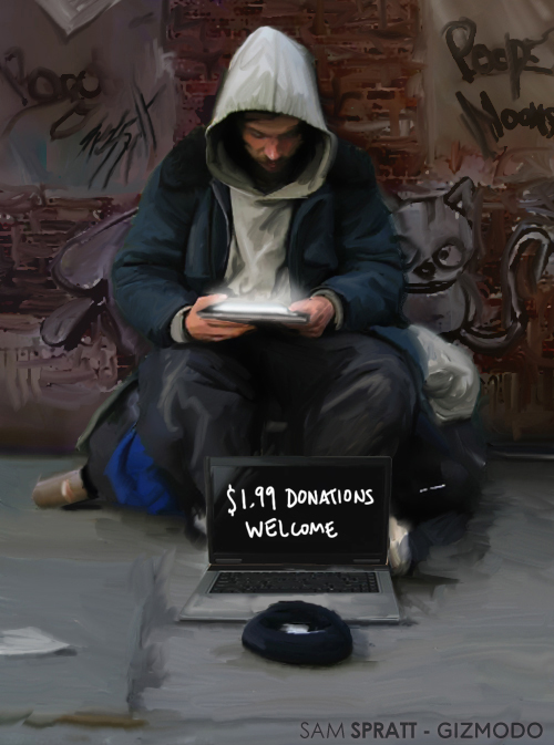 how to become homeless in australia