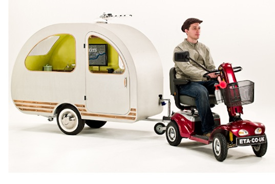 The World's Smallest Trailer Can Be Pulled By A Scooter ...