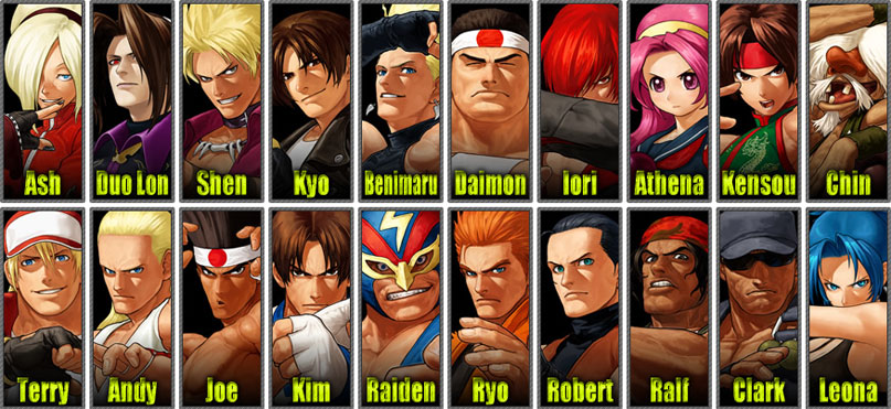 Here 39 s your king of fighters xii roster kotaku australia - King of fighters characters pictures ...