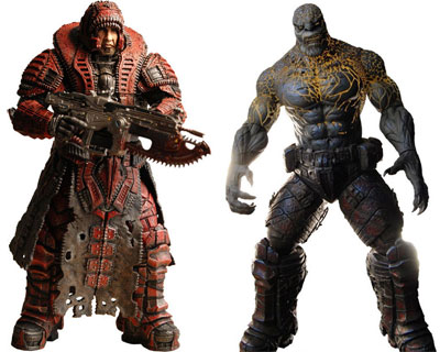 Fans of either Gears of War or World of Warcraft (or both!