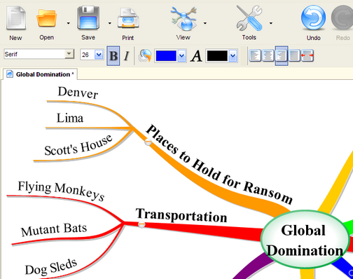 imindmap can claim two distinctions among the top five tools first its the biggest downloadweighing in at 135mb second its the only application on the - Mind Map App For Mac