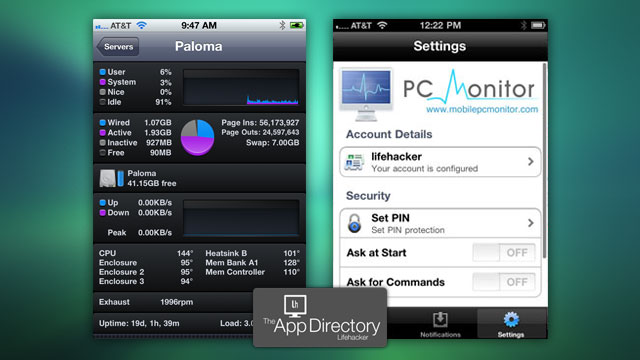 The Best System Monitor For Iphone Lifehacker Australia